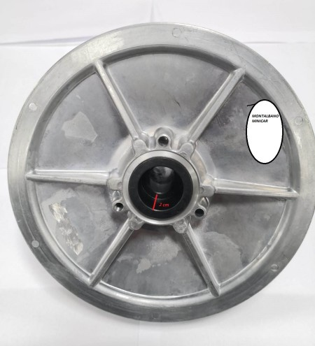 VARIATORE LATO CAMBIO MINICAR 2 cm